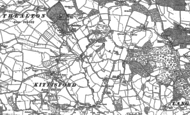 Old Map of Poleshill, 1887 - 1903