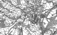 Old Map of Pont Cysyllte, 1909 - 1910