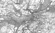 Old Map of Pont-rhyd-y-groes, 1886