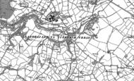 Old Map of Pont-Ystrad, 1898 - 1910