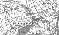 Old Map of Portbury, 1883 - 1902