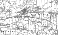 Old Map of Portesham, 1901