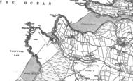 Old Map of Porth Joke, 1906