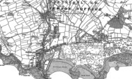 Old Map of Porthcawl, 1897 - 1914