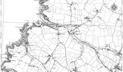 Old Map of Porthcothan Bay, 1880