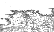 Old Map of Porthgain, 1906