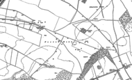 Old Map of Porton Down, 1923