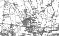 Old Map of Portslade Village, 1896 - 1909
