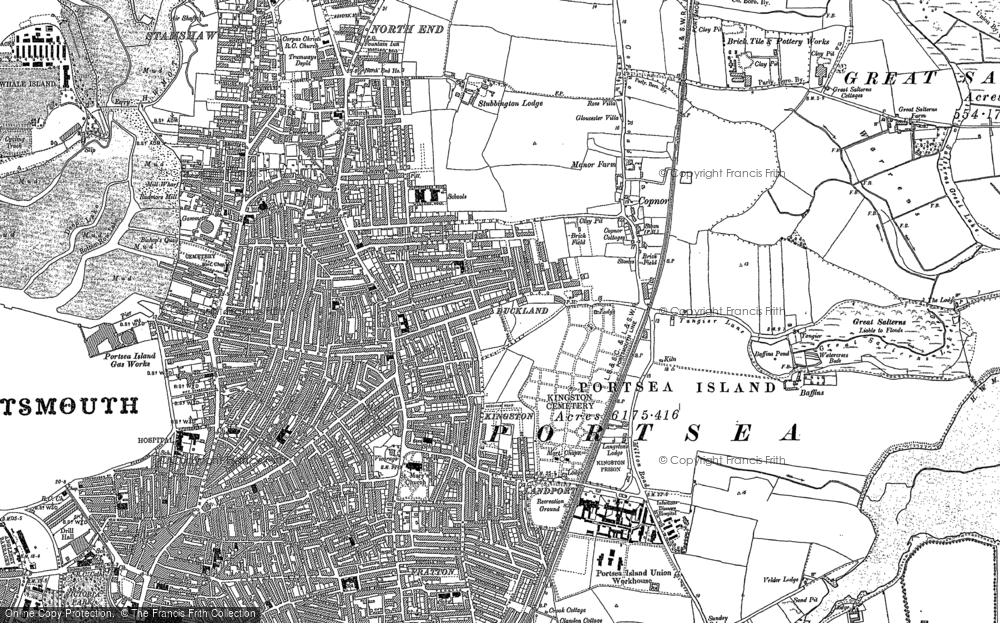 Old Maps of Portsmouth  Francis Frith