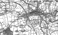 Old Map of Portway, 1886