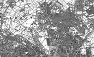 Old Map of Potternewton, 1890 - 1892