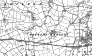 Old Map of Potters Marston, 1886 - 1901