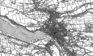 Old Map of Pottington, 1885 - 1886