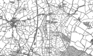 Old Map of Prees Heath, 1879 - 1899