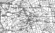 Old Map of Preesall, 1909 - 1930