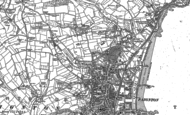 Old Map of Preston, 1886 - 1904