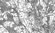 Old Map of Preston, 1887