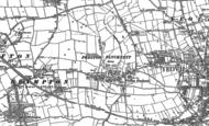 Old Map of Preston Plucknett, 1886 - 1901
