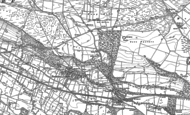 Old Map of Preston-under-Scar, 1891