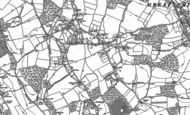 Old Map of Prestwood, 1897