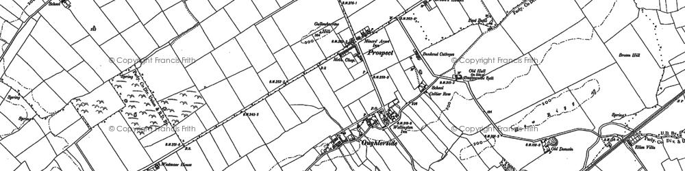 Old map of Tilekiln Cott in 1923