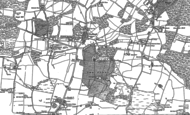 Old Map of Purbrook, 1895 - 1907