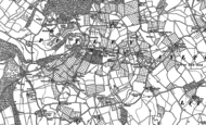 Old Map of Putley, 1886 - 1903