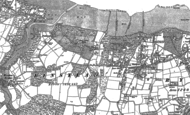 Old Map of Quarr Abbey, 1896 - 1907
