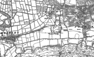 Old Map of Rackham, 1896