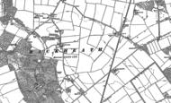 Old Map of Rackheath, 1881 - 1883