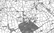 Old Map of Radbourne, 1881 - 1882