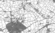 Old Map of Radbourne Common, 1881 - 1882