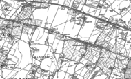 Old Map of Radfield, 1896
