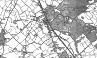 Old Map of Radlett, 1896 - 1911