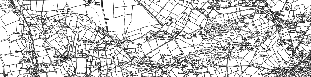 Old map of Radnor in 1906