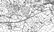 Old Map of Radway Green, 1908