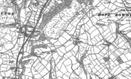 Old Map of Ragdon, 1882