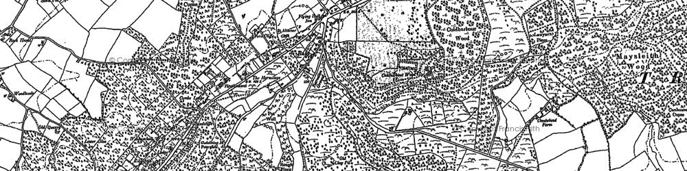 Old map of Rake in 1896