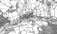 Old Map of Ramsbury, 1899 - 1909