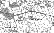 Old Map of Ramsden Bellhouse, 1895