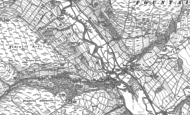 Old Map of Ramsgill, 1907 - 1908