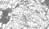 Old Map of Ranton, 1880 - 1881