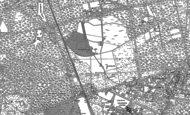 Old Map of Ravenswood Village Settlement, 1910