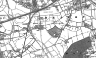 Old Map of Raynes Park, 1894 - 1895