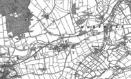 Old Map of Redenhall, 1903