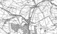 Old Map of Redesmouth, 1895