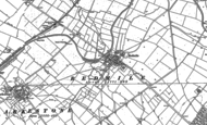 Old Map of Redmile, 1886 - 1902
