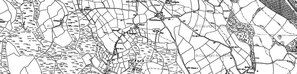 Old map of Redmoor in 1881