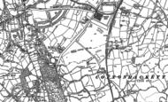 Old Map of Rednal, 1903-1914