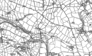 Old Map of Rejerrah, 1906